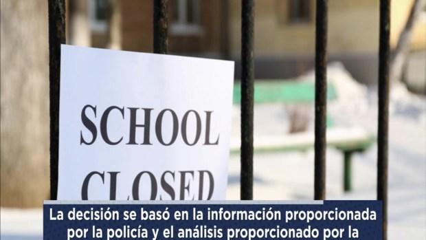 [TLMD - LV] Escuelas públicas de Denver cerradas este miércoles