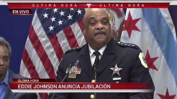 Superintendente Eddie Johnson anuncia su jubilación