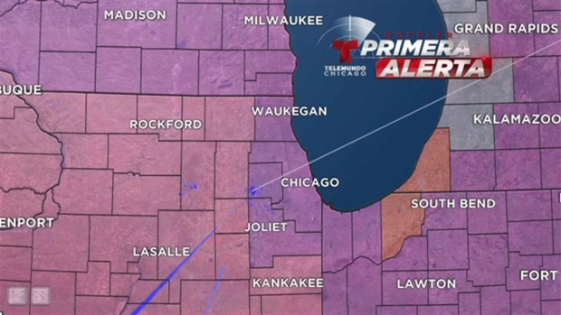 Peligrosas sensaciones térmicas esta semana en Chicago