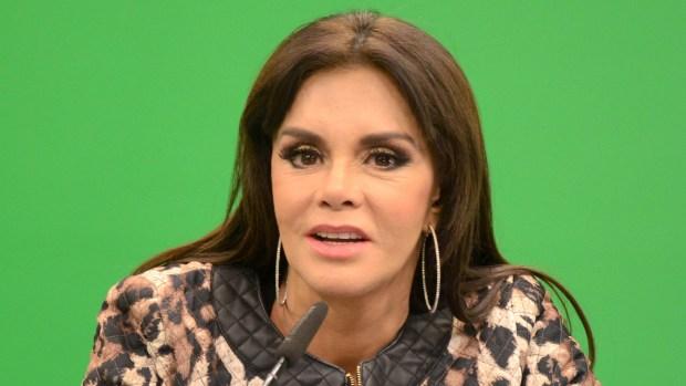 La vida de Lucía Méndez corrió peligro