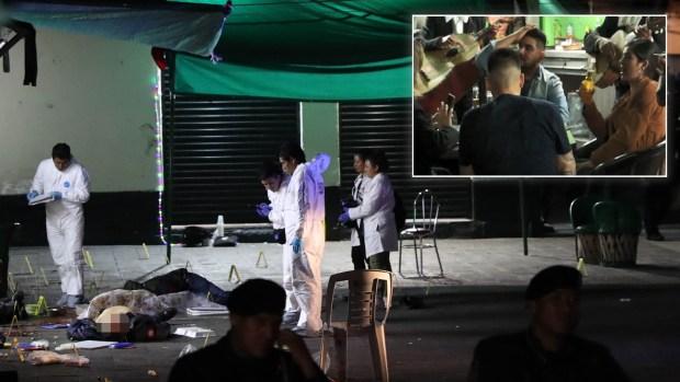 Mariachis asesinos: tiros y muertos, pero la fiesta sigue