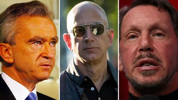 Forbes 2018: quiénes son los 11 más ricos del mundo