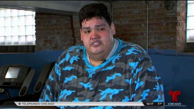 Así es como este joven de Chicago piensa perder 500 libras