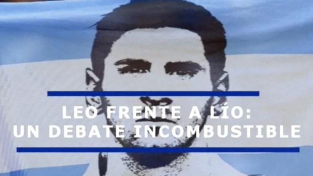 """[TLMD - LV] Las dos caras de Messi, """"Leo"""" y """"Lío"""""""