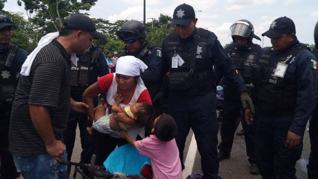 Operativo de detención de migrantes genera sospecha