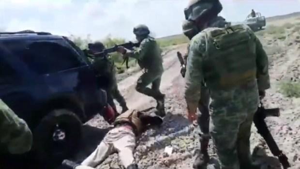 Ejército presume trato digno a criminales