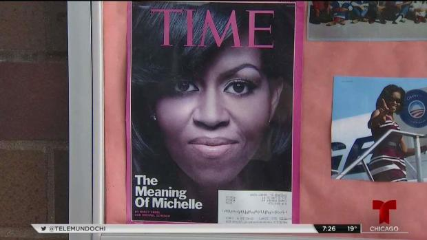 Michelle Obama lanza su primer libro en Chicago