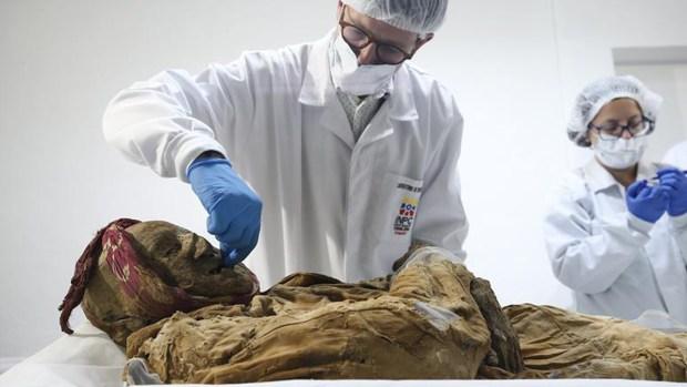 El secreto de la momia hallada en Ecuador