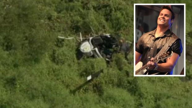 Muere cantante de country en accidente de helicóptero