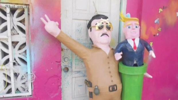 """Después de Donald Trump, llegan las piñatas de """"El Chapo"""""""