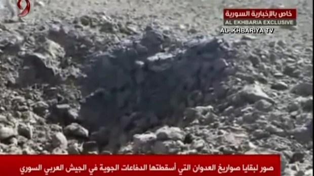 [TLMD - MIA] Régimen sirio asegura haber bloqueado misiles