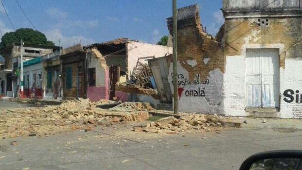 Fotos: Daños causados por sismo en México