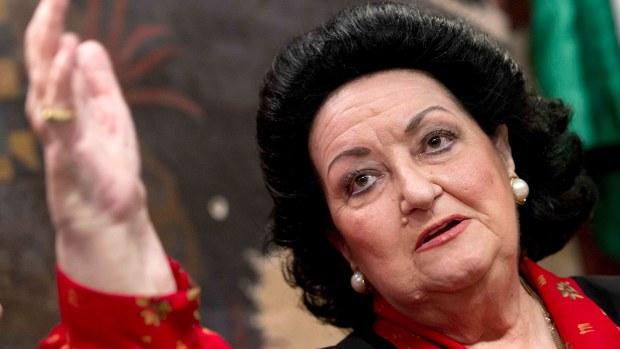 Muertes recientes de famosos: fallece la soprano Montserrat Caballé