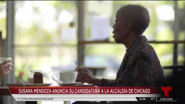 Susana Mendoza se postula como alcaldesa de Chicago