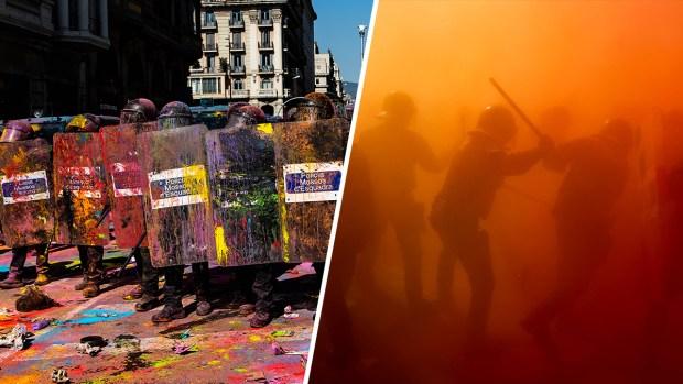 Tensión explota en Barcelona con protestas, caos y palos