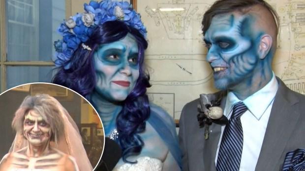 [TLMD - NATL] Bodas zombis: celebran el gran día con un toque tenebroso