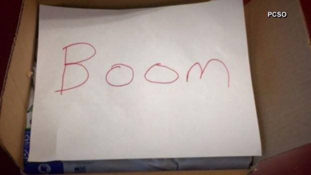 """""""Boom"""": policía de Florida envía bomba falsa y dice era una broma"""
