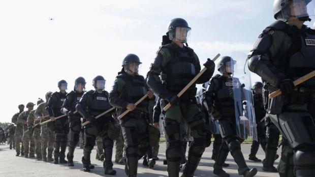 """Contra la caravana de inmigrantes; así se alista la operación """"Patriota Fiel"""""""