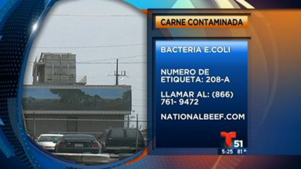 Video: Alerta: carne contaminada