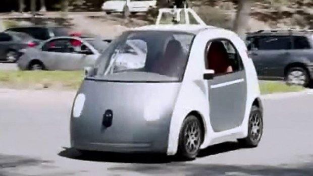 Video: Conoce el auto de Google que va solo