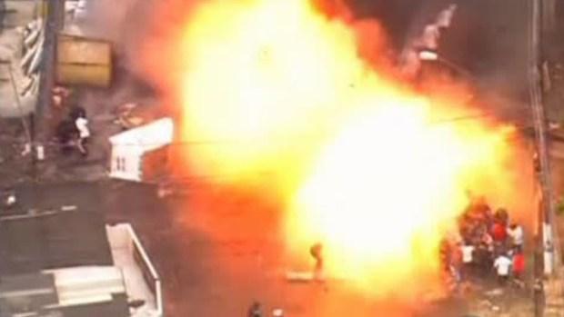 Video: Violentas manifestaciones en Brasil