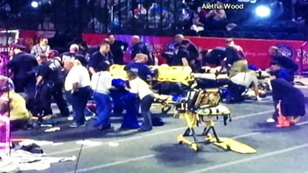 Video: Nueve acróbatas heridos en un circo