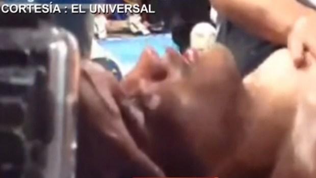 "Video: ""Fantasma"" González peleando por vivir"
