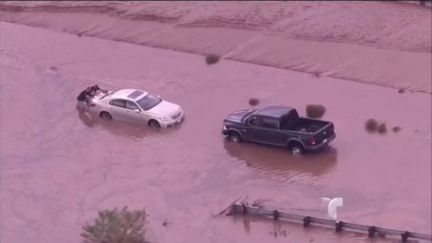 Video: Severas inundaciones azotan a Arizona