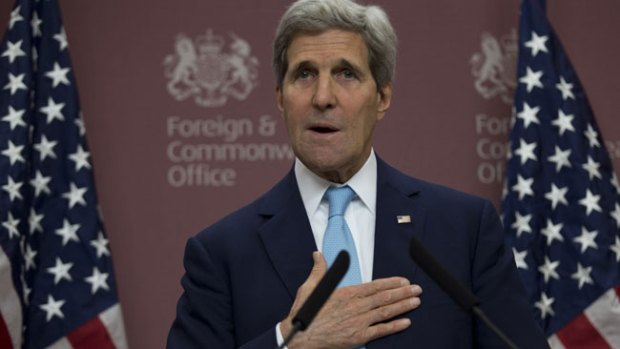 Video: Kerry afronta situación crítica en Irak