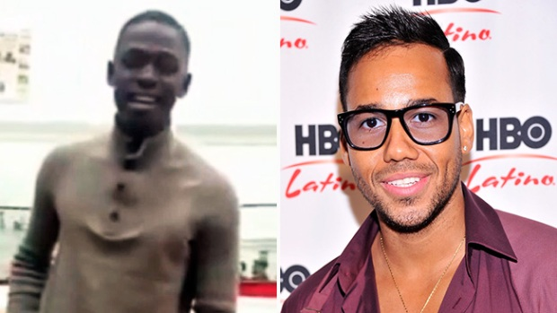 Video: ¿Canta o no como Romeo Santos?