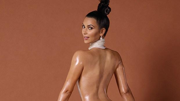 Video: Kim Kardashian con trasero al descubierto