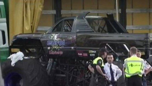 Video: Tragedia por monster truck en Holanda