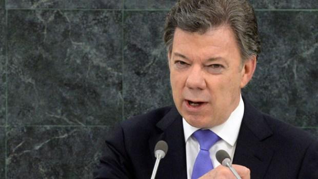Video: Presidente de Colombia a la reelección