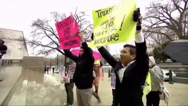 Video: 6 arrestados tras protestas migratorias