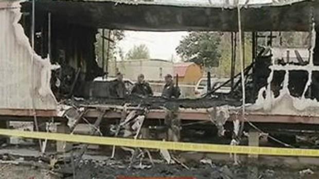 Video: Tres niños muertos en incendio de casa