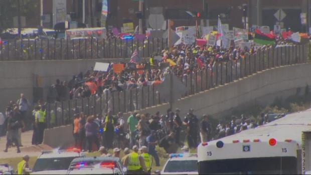 Así se vivió la marcha en contra de la violencia en la autopista Dan Ryan