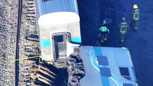 Video: Arrestan a chofer de camión impactado por tren