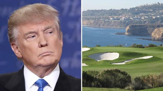 Aparece cadáver en el campo de golf más caro de Trump