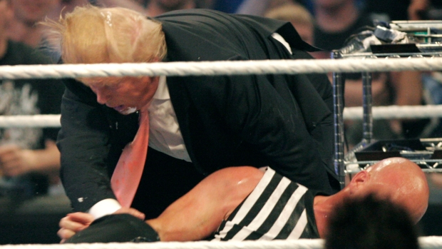 Lucha libre: el pasado desconocido de Donald Trump