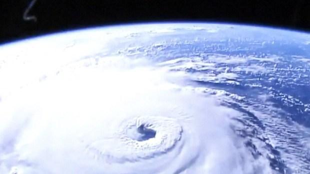 Desde el espacio: impresionantes imágenes del huracán Florence