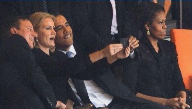 """Video: El """"selfie"""" de Obama causa gran revuelo"""