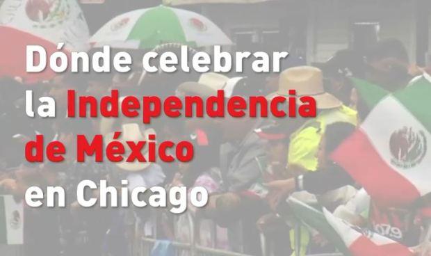 Dónde celebrar la Independencia de México y El Grito en Chicago
