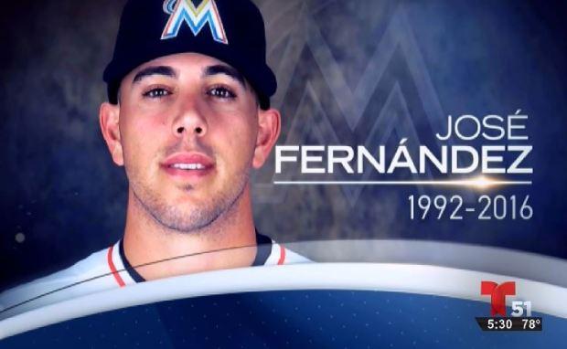 José Fernández tenía cocaína y alcohol en su cuerpo al morir