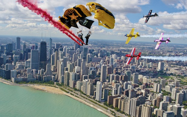 ¡Ya arranca el Chicago Air and Water Show 2019!