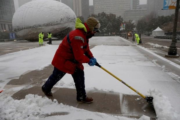 Chicago: así se vivió la nevada histórica en noviembre