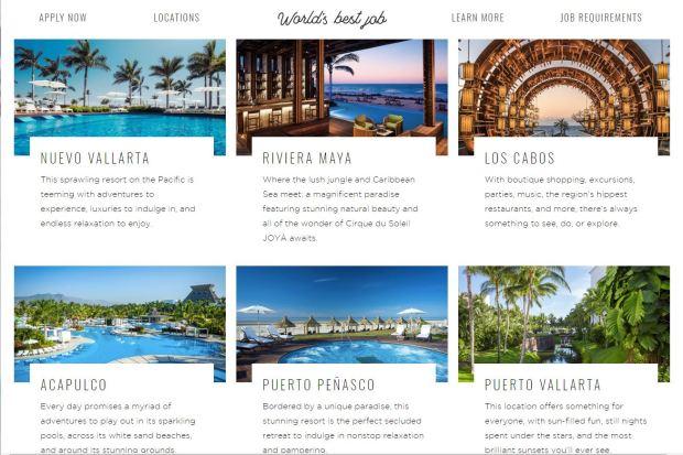 [TLMD - NATL] Empleo soñado: pago anual de 120,000 por mostrar cómo disfrutas en hoteles