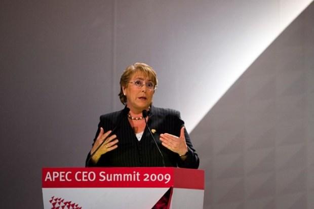 Video: Bachelet se proclama presidenta de Chile