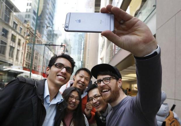 Lanzamiento: locos por el nuevo iPhone
