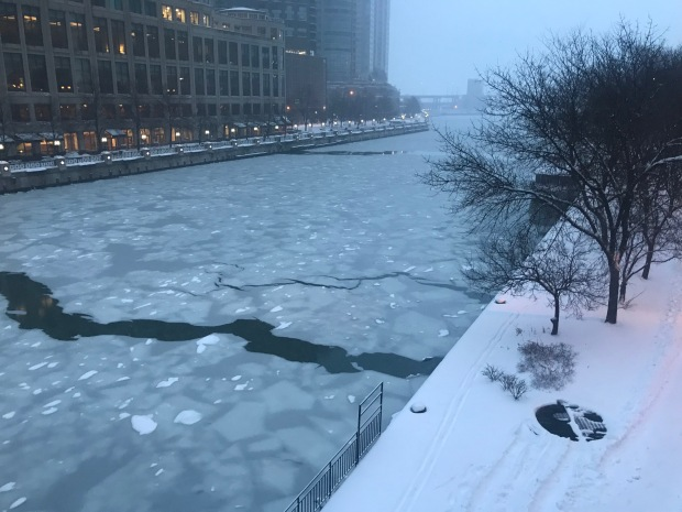 Bajo nieve: fotos de la tormenta invernal que azota Chicago