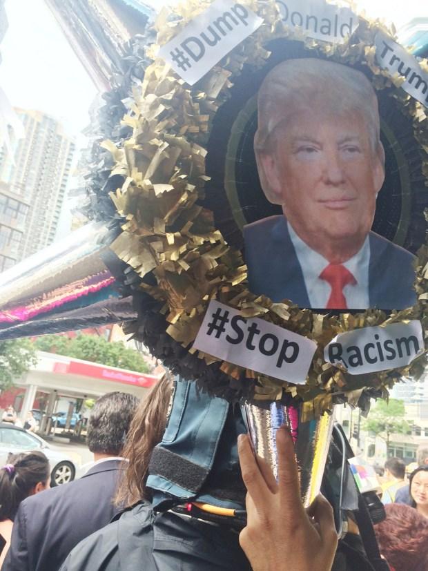 Repudian a Donald Trump en Chicago